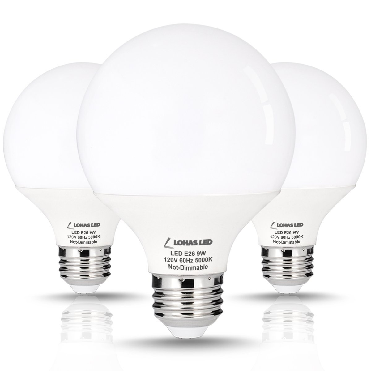 3 pack lohas 9 watt led globe bulb g25 led bulbs 60watt vanity 3 pack lohas 9 watt led globe bulb g25 led bulbs 60watt vanity light bulbs equivalent mozeypictures Images