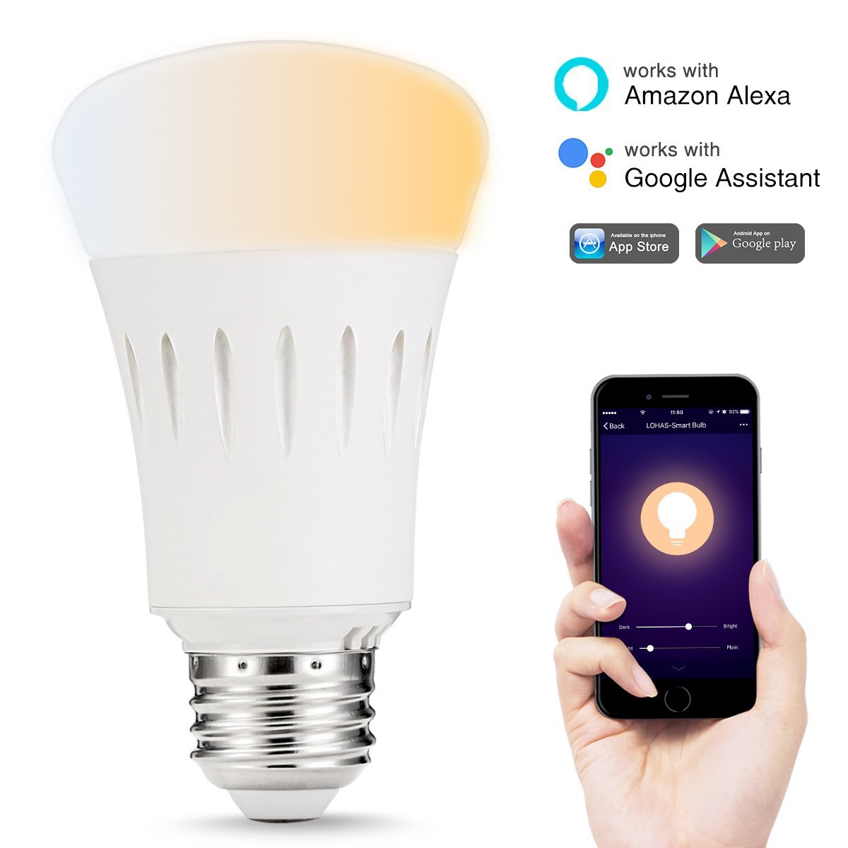 wifi lamp rgb wireless for item led echo smart alexa lighting bulb light bulbs