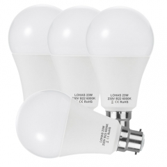 [United Kingdom only] 4 Pack LOHAS LED A65 B22 Bayonet Bulbs