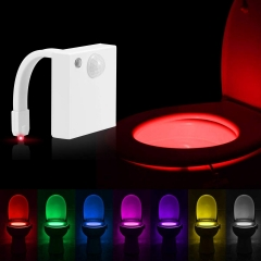 Luohaoshi LED Motion Sensor Automatic Toilet Night Light, USB Charging (@Amazon.uk)