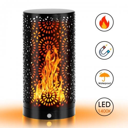 Flame Lamp LampFlickering code AGDC74LI LED Atmosphere Gravity LOHAS Table Buyamazon Bulb Sensor Light Light POXiuTkZ