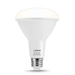 LOHAS LED Smart Bulb Work with Alexa and Google Home,BR30 E26,crystal white glow 5000k