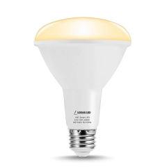 LOHAS LED Smart Bulb Work with Alexa and Google Home,BR30 E26 10W,Soft White 3000k,Dimmable