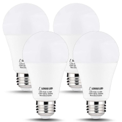 LOHAS LED Light Bulbs, A19 E26 13.5W, Daylight White 5000K (4 Pack)