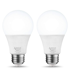 LOHAS LED Smart Bulb Work with Alexa and Google Home, A19 E26 8W, Daylight Dimmable (2 Pack)