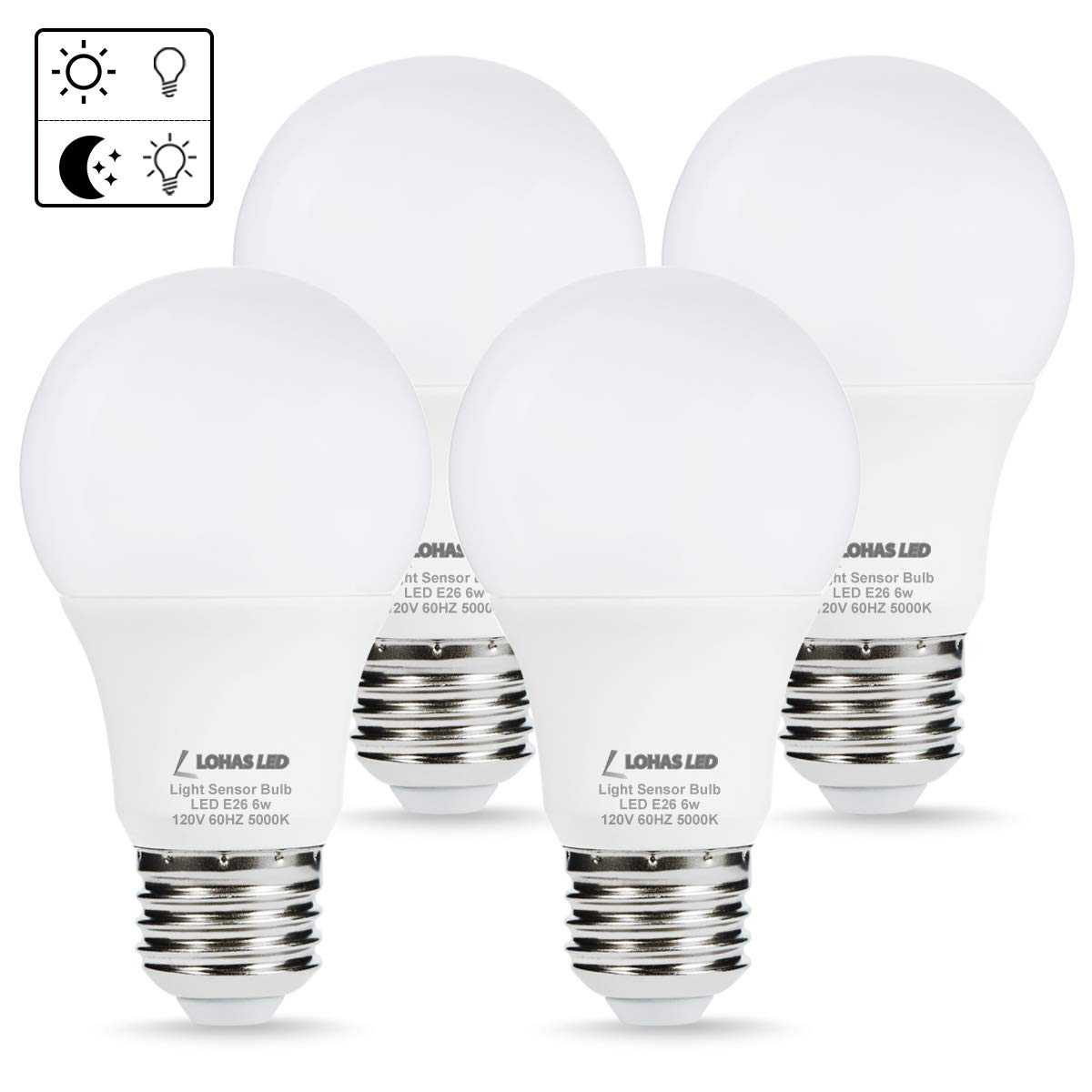 Sensor Light 4 Pack
