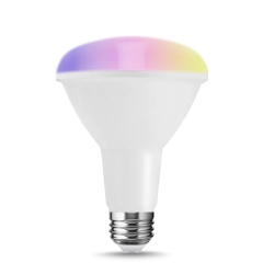 LOHAS LED Smart Bulbs Work with Alexa and Google Home,BR30 A19 E26 9W, RGB and Daylight