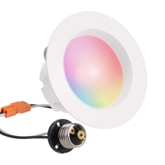 LOHAS LED Smart Bulb Work with Alexa and Google Home, Retrofit Downlight, E26 5W RGB 2000K-9000K Dimmable