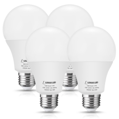 LOHAS 150W Equivalent LED Light Bulb, A21 LED 17W Bulbs with Soft White 3000K, 1750Lumen High Brightness E26 Base, 120V LED Not Dimmable, 4Pack