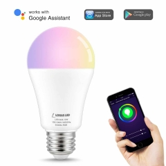 LOHAS LED Smart Bulb Work with Alexa and Google Home, A19 E26 12W, Cool White Color Changing