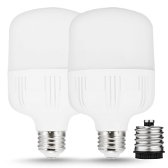 LOHAS 30W LED Light Bulbs, 260W Equivalent, Warm White 3000K, 3400LM Shop Light, 2 Pack